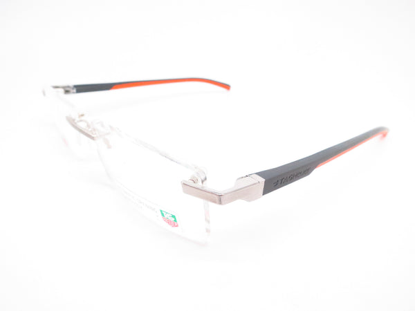 Tag Heuer TH 0802 009 Orange/Grey Automatic Eyeglasses - Eye Heart Shades - Tag Heuer - Eyeglasses - 1