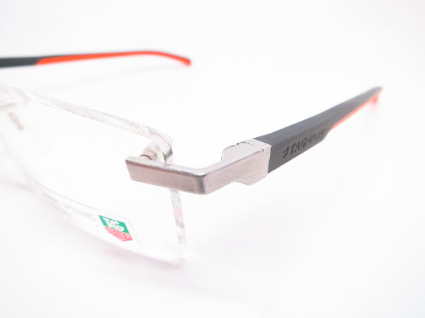 Tag Heuer TH 0802 009 Orange/Grey Automatic Eyeglasses - Eye Heart Shades - Tag Heuer - Eyeglasses - 3
