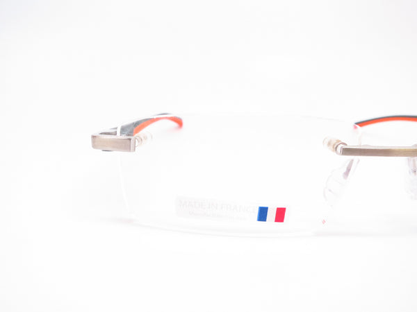 Tag Heuer TH 0802 009 Orange/Grey Automatic Eyeglasses - Eye Heart Shades - Tag Heuer - Eyeglasses - 4