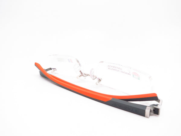 Tag Heuer TH 0802 009 Orange/Grey Automatic Eyeglasses - Eye Heart Shades - Tag Heuer - Eyeglasses - 8