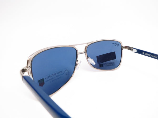 Tag Heuer TH 0981 Senna 401 Gunmetal/Blue Polarized Sunglasses - Eye Heart Shades - Tag Heuer - Sunglasses - 6