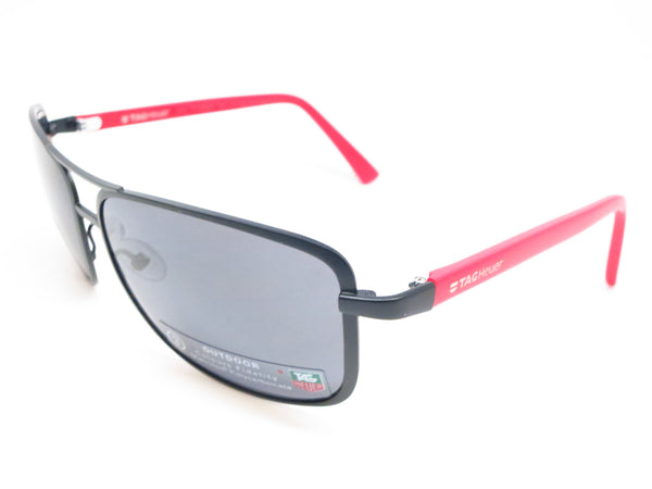 Tag Heuer TH 0984 Senna 102 Black / Red Sunglasses - Eye Heart Shades - Tag Heuer - Sunglasses - 1