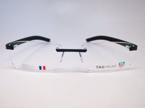 Tag Heuer TH 3842 001 Black Line Rimless Eyeglasses - Eye Heart Shades - Tag Heuer - Eyeglasses - 2