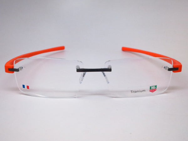 Tag Heuer TH 3941 006 Orange Reflex 3 Rimless Eyeglasses - Eye Heart Shades - Tag Heuer - Eyeglasses - 2