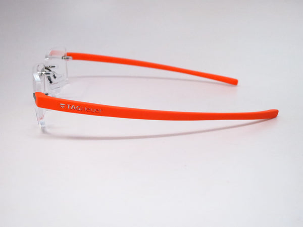 Tag Heuer TH 3941 006 Orange Reflex 3 Rimless Eyeglasses - Eye Heart Shades - Tag Heuer - Eyeglasses - 3
