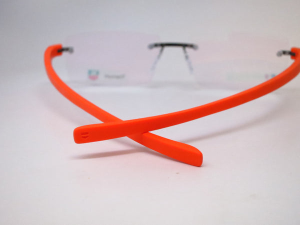 Tag Heuer TH 3941 006 Orange Reflex 3 Rimless Eyeglasses - Eye Heart Shades - Tag Heuer - Eyeglasses - 6