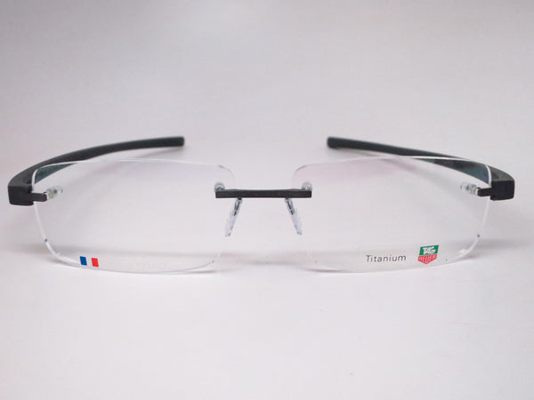 Tag Heuer TH 3942 005 Black Gunmetal Reflex 3 Rimless Eyeglasses - Eye Heart Shades - Tag Heuer - Eyeglasses - 2