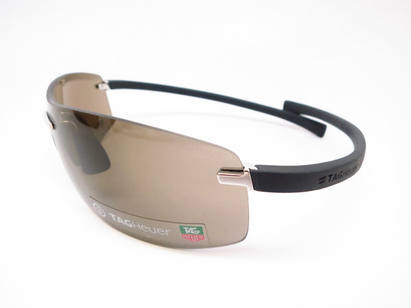 Tag Heuer TH 5101 Palladium/Black 201 Rimless Curve Sunglasses - Eye Heart Shades - Tag Heuer - Sunglasses - 1