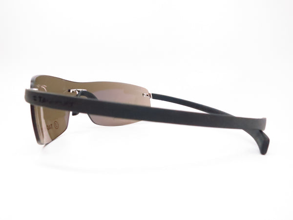 Tag Heuer TH 5101 Palladium/Black 201 Rimless Curve Sunglasses - Eye Heart Shades - Tag Heuer - Sunglasses - 5