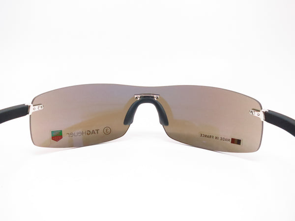 Tag Heuer TH 5101 Palladium/Black 201 Rimless Curve Sunglasses - Eye Heart Shades - Tag Heuer - Sunglasses - 7