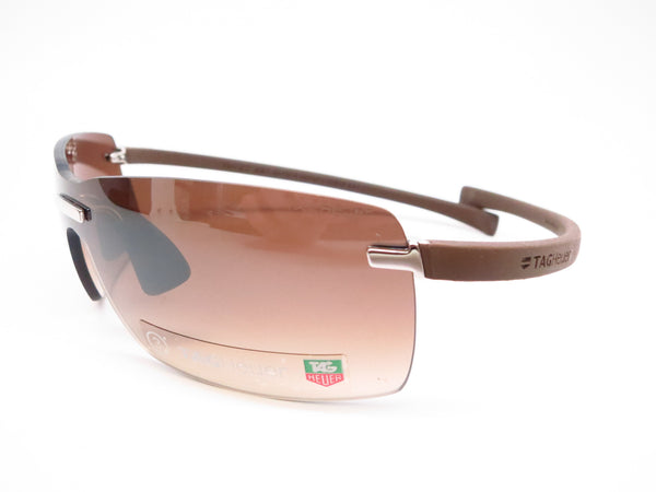 Tag Heuer TH 5106 202 Brown Rimless Curve Zenith Sunglasses - Eye Heart Shades - Tag Heuer - Sunglasses - 1