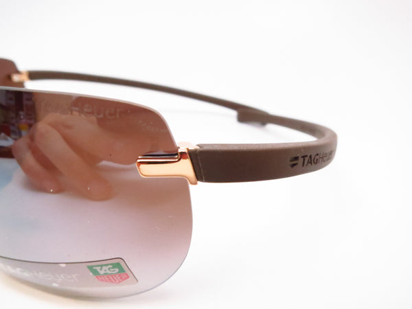 Tag Heuer TH 5109 203 Brown Rimless Curve Zenith Sunglasses - Eye Heart Shades - Tag Heuer - Sunglasses - 3