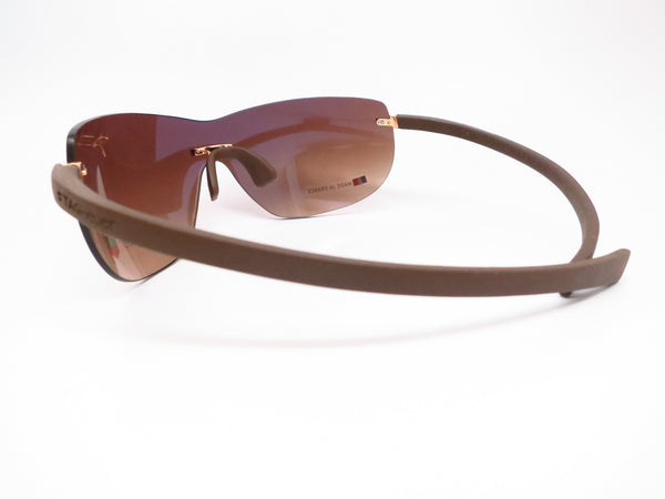 Tag Heuer TH 5109 203 Brown Rimless Curve Zenith Sunglasses - Eye Heart Shades - Tag Heuer - Sunglasses - 5
