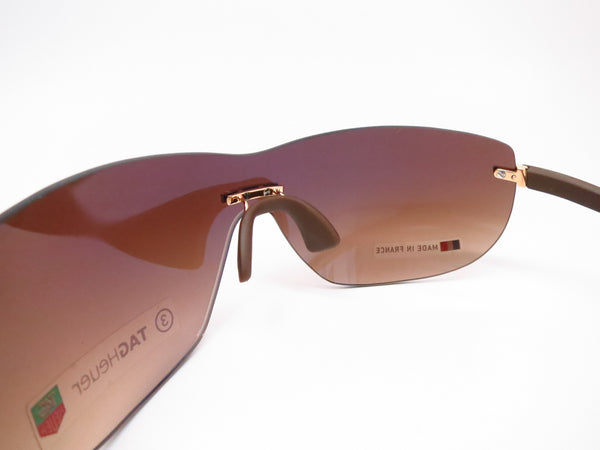 Tag Heuer TH 5109 203 Brown Rimless Curve Zenith Sunglasses - Eye Heart Shades - Tag Heuer - Sunglasses - 6