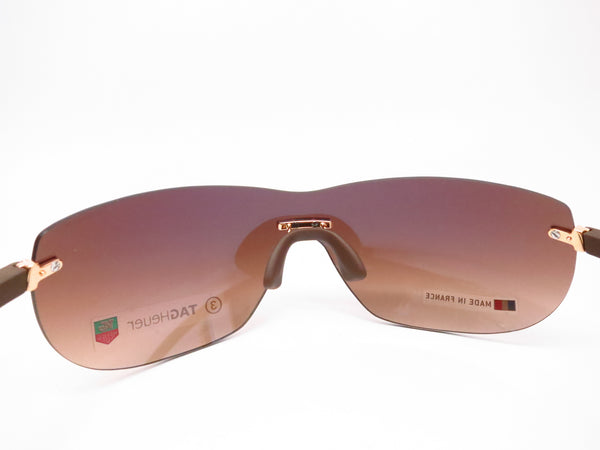 Tag Heuer TH 5109 203 Brown Rimless Curve Zenith Sunglasses - Eye Heart Shades - Tag Heuer - Sunglasses - 7