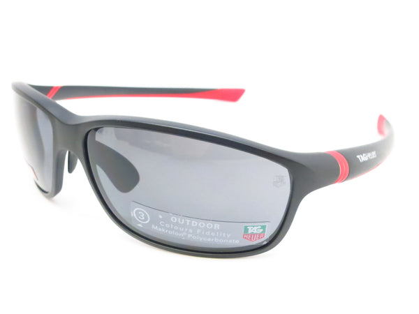 Tag Heuer TH 6021 102 Red/Matte Black 27 Sport Sunglasses - Eye Heart Shades - Tag Heuer - Sunglasses - 1