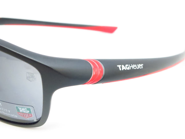 Tag Heuer TH 6021 102 Red/Matte Black 27 Sport Sunglasses - Eye Heart Shades - Tag Heuer - Sunglasses - 3