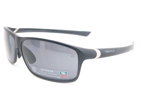 Tag Heuer TH 6024 27 Sport 101 Matte Black Sunglasses - Eye Heart Shades - Tag Heuer - Sunglasses - 1