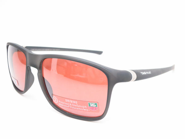 Tag Heuer 27 Urban TH 6042 Matte Black Translucent 212 Polarized Sunglasses - Eye Heart Shades - Tag Heuer - Sunglasses - 1