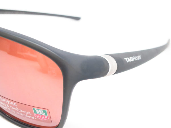 Tag Heuer 27 Urban TH 6042 Matte Black Translucent 212 Polarized Sunglasses - Eye Heart Shades - Tag Heuer - Sunglasses - 3