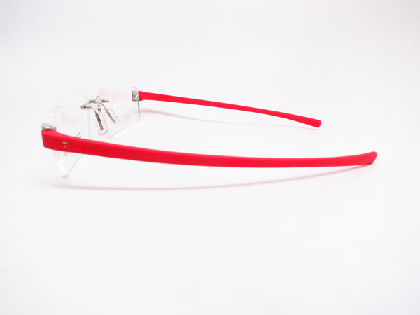 Tag Heuer TH 7102 003 Red Rubber Eyeglasses - Eye Heart Shades - Tag Heuer - Eyeglasses - 5