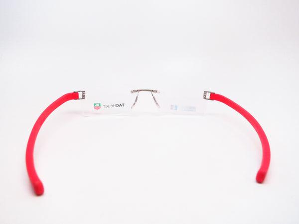 Tag Heuer TH 7102 003 Red Rubber Eyeglasses - Eye Heart Shades - Tag Heuer - Eyeglasses - 7