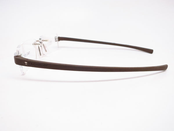 Tag Heuer TH 7505 202 Brown Rubber Eyeglasses - Eye Heart Shades - Tag Heuer - Eyeglasses - 5