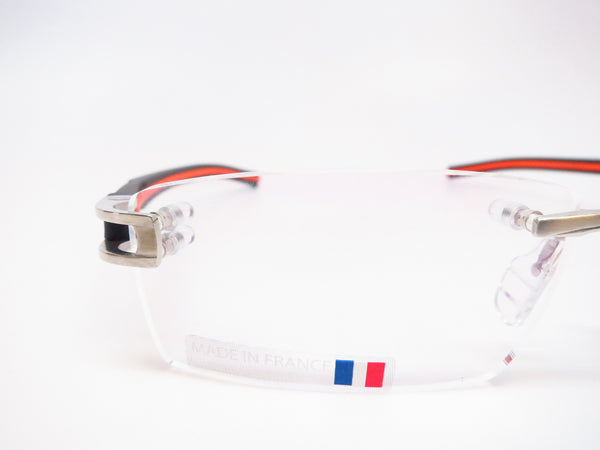 Tag Heuer TH 7641 004 Black / Orange Track-S Rimless Eyeglasses - Eye Heart Shades - Tag Heuer - Eyeglasses - 4