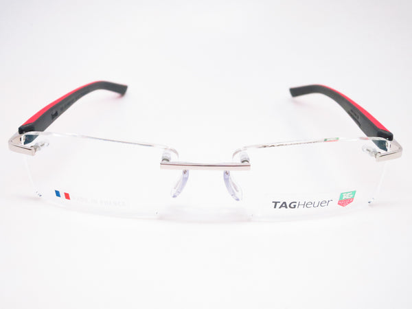 Tag Heuer TH 8109 005 Red / Black Trends Rubber Eyeglasses - Eye Heart Shades - Tag Heuer - Eyeglasses - 2