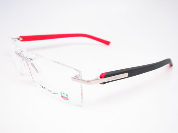Tag Heuer TH 8110 002 Red / Black Trends Rubber Eyeglasses - Eye Heart Shades - Tag Heuer - Eyeglasses - 1