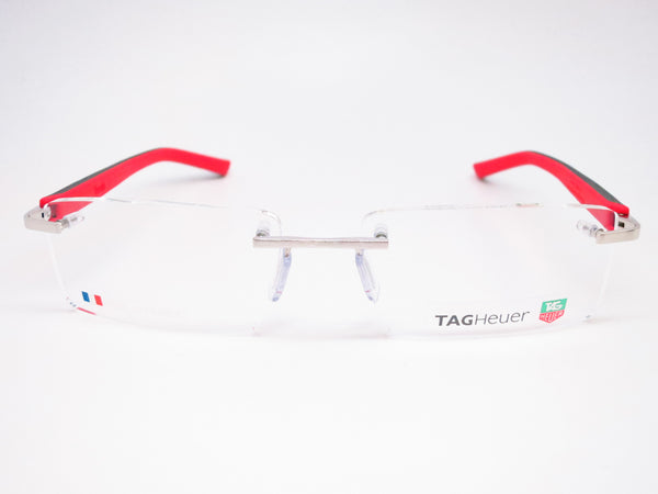 Tag Heuer TH 8110 002 Red / Black Trends Rubber Eyeglasses - Eye Heart Shades - Tag Heuer - Eyeglasses - 2