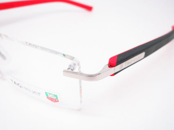 Tag Heuer TH 8110 002 Red / Black Trends Rubber Eyeglasses - Eye Heart Shades - Tag Heuer - Eyeglasses - 3
