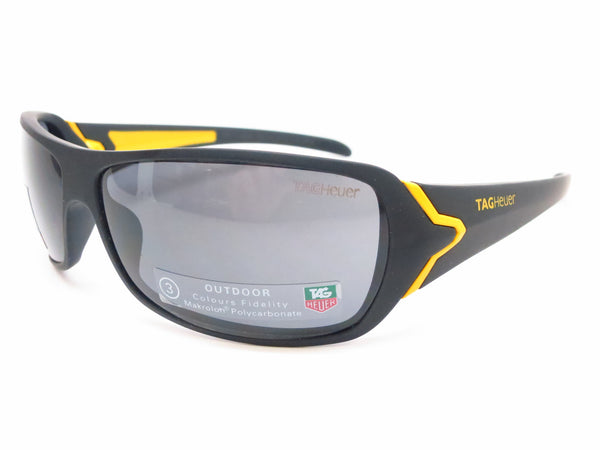 Tag Heuer TH 9202 105 Black/Yellow Racer Limited Edition Sunglasses - Eye Heart Shades - Tag Heuer - Sunglasses - 1