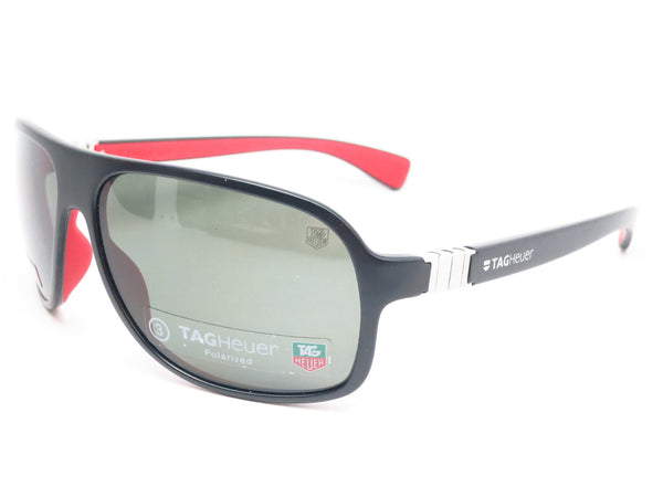 Tag Heuer TH 9303 Legend 102 Black / Red Polarized Sunglasses - Eye Heart Shades - Tag Heuer - Sunglasses - 1