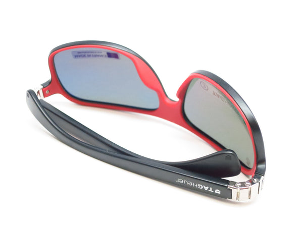 Tag Heuer TH 9303 Legend 102 Black / Red Polarized Sunglasses - Eye Heart Shades - Tag Heuer - Sunglasses - 8