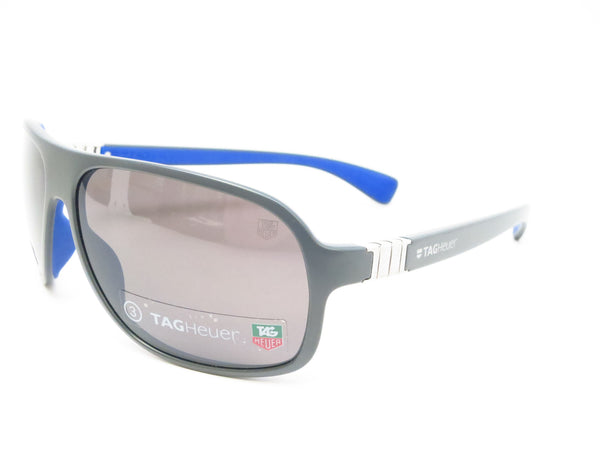 Tag Heuer TH 9303 Legend 103 Grey/Cobalt Blue Sunglasses - Eye Heart Shades - Tag Heuer - Sunglasses - 1