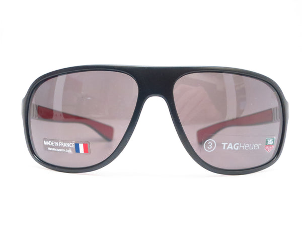 Tag Heuer TH 9303 Legend 112 Black / Red Sunglasses - Eye Heart Shades - Tag Heuer - Sunglasses - 2