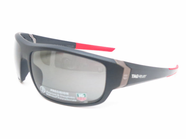 Tag Heuer TH 9221 Racer 2 901 Matte Black/Red Polarized Sunglasses - Eye Heart Shades - Tag Heuer - Sunglasses - 1