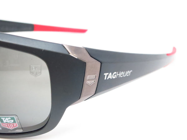 Tag Heuer TH 9221 Racer 2 901 Matte Black/Red Polarized Sunglasses - Eye Heart Shades - Tag Heuer - Sunglasses - 3