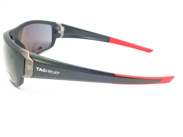 Tag Heuer TH 9221 Racer 2 901 Matte Black/Red Polarized Sunglasses - Eye Heart Shades - Tag Heuer - Sunglasses - 5