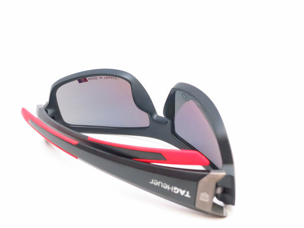 Tag Heuer TH 9221 Racer 2 901 Matte Black/Red Polarized Sunglasses - Eye Heart Shades - Tag Heuer - Sunglasses - 8