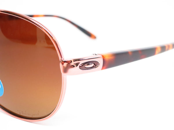Oakley Tie Breaker OO4108-04 Rose Gold Polarized Sunglasses - Eye Heart Shades - Oakley - Sunglasses - 3