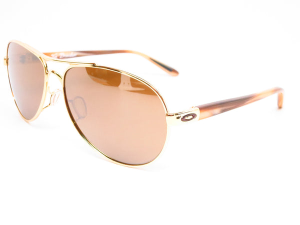 Oakley Tie Breaker OO4108-06 Polished Gold Sunglasses - Eye Heart Shades - Oakley - Sunglasses - 1