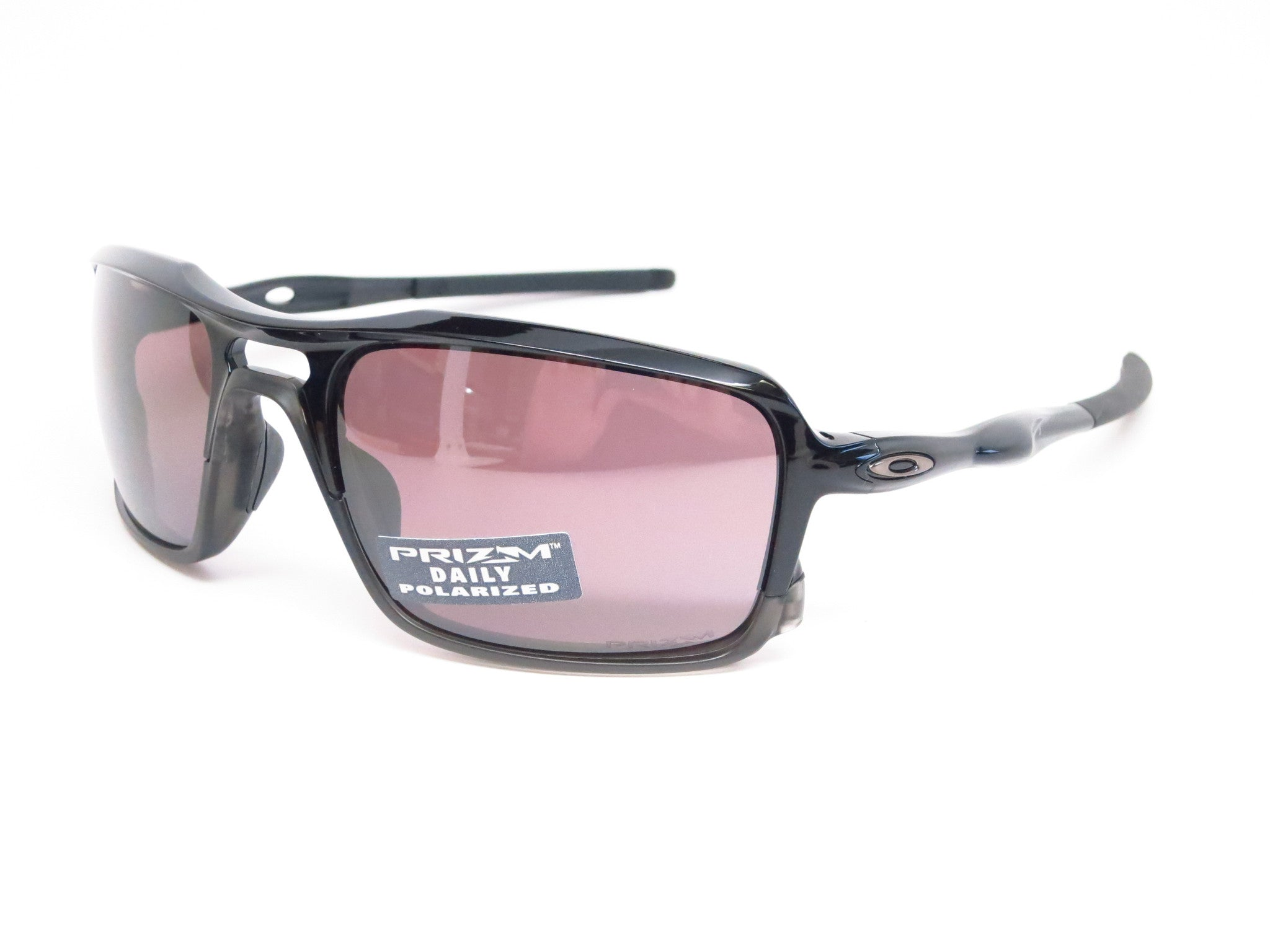 b3396a304b Oakley Triggerman OO9266-06 Polished Black Polarized Sunglasses - Eye Heart  Shades - Oakley ...