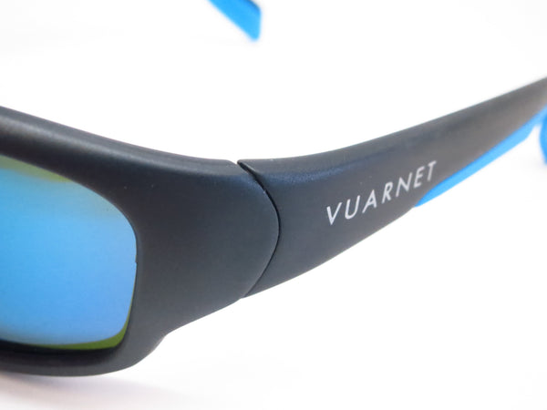 Vuarnet VL 0113 Matte Black Blue 0014 3126 Sunglasses - Eye Heart Shades - Vuarnet - Sunglasses - 3
