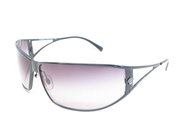 Versace VE 2040 Black 1009/8G Sunglasses - Eye Heart Shades - Versace - Sunglasses - 1
