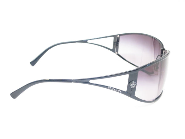 Versace VE 2040 Black 1009/8G Sunglasses - Eye Heart Shades - Versace - Sunglasses - 4