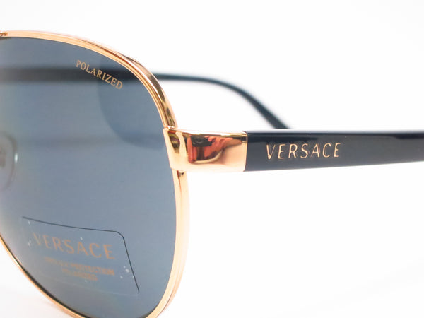 Versace VE 2142 Gold Polarized 1002/81 Sunglasses - Eye Heart Shades - Versace - Sunglasses - 3
