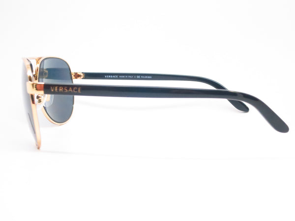 Versace VE 2142 Gold Polarized 1002/81 Sunglasses - Eye Heart Shades - Versace - Sunglasses - 5