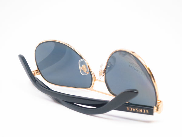 Versace VE 2142 Gold Polarized 1002/81 Sunglasses - Eye Heart Shades - Versace - Sunglasses - 8